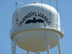Transylvania, Louisiana water tank - photo from campscout