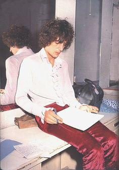 Syd Barrett of Pink Floyd on tour in 1967.