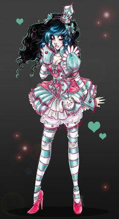 "Marionette In Wonderland ~ Jennifer aka ""NoFlutter"""