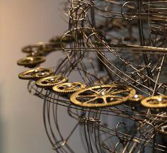 Kinetic Clock.   Miki Eleta