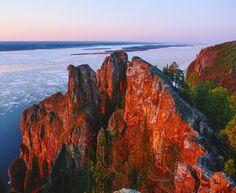 Russia. Lena river