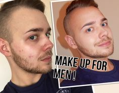 Makeup For Men - The Best Products, Tips and Demo. Natural & Flawless.