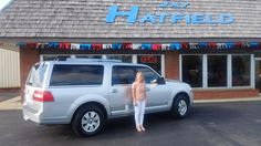 D'anne, we're so excited for all the places you'll go in your 2011 Lincoln Navigator!  Safe travels and best wishes on behalf of Jay Hatfield Ford and Scot Fisher.