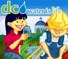 DC Water for Kids! Student Activities and Lessons to learn about water and ways to conserve.
