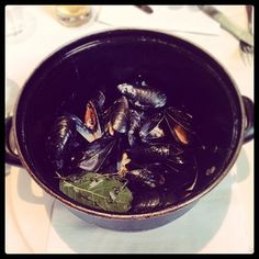 "by @jakexu ""Mussels are so fresh at #brasserieblanc"""