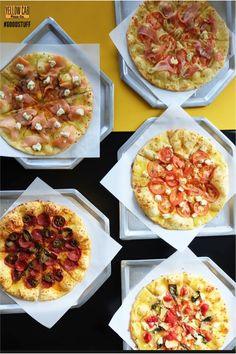 For your favorite good stuff, there's nowhere to go but here. Try our Craft Pizzas now! Pizza Special, Pepperoni, Bruschetta, Your Favorite, Craft, Ethnic Recipes, Food, Pizza, Creative Crafts