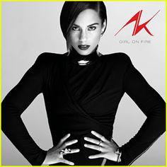 Alicia Keys: 'Girl on Fire' Album Cover Art!: Photo Check out the album cover art for Alicia Keys' upcoming ep Girl on Fire! Frank Ocean, Alicia Keys Albums, The Voice, Divas, Mundo Musical, Fire Cover, Indie, Le Concert, Pochette Album