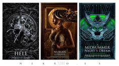 3 new covers for sale by Nekro Borja.