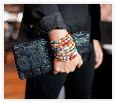 Hit Rewind – Fair Trade Recycled VHS Tape Clutch