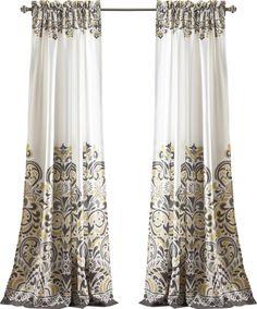 Kara Paisley Rod Pocket Curtain Panel