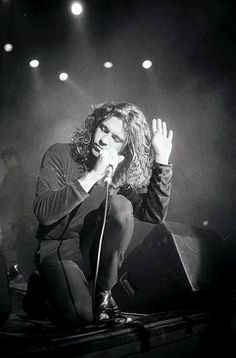 Michael Hutchence - what a loss. Gorgeous picture of him.