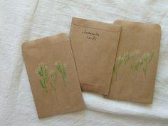 Seed saving, by Tiny Happy.