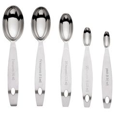 Cuisipro Stainless Steel Measuring Spoon Set