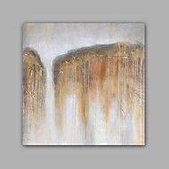 Pintados+à+mão+Abstracto+/+Paisagem+Pinturas+a+óleo,Modern+/+Clássico+1+Painel+Tela+Hang-painted+pintura+a+óleo+For+Decoração+para+casa+–+BRL+R$+219,67