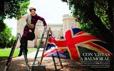 Con Vistas A Balmoral | Coco Rocha | Pascal Chevallier #photography | Elle Spain September 2012