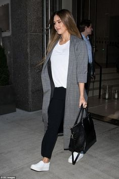 Jessica Alba outfits. Find the designers and brands Jessica Alba was wearing and where to shop for it.