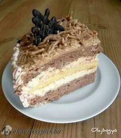 Gesztenye torta recept fotó