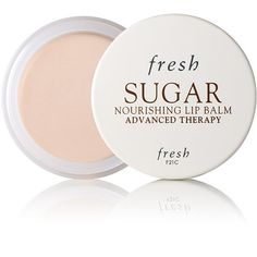 Fresh Sugar Nourishing Lip Balm Advanced Therapy (£23) ❤ liked on Polyvore featuring beauty products, skincare, lip care, lip treatments, beauty, makeup, fillers, cosmetics, lips and colorless