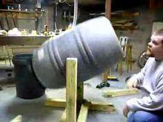 Building a compost tumbler