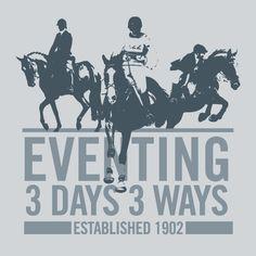 Eventing sticker 3 days / 3 ways