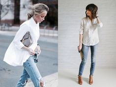 White shirt, an essential to keep! #fashion #whiteshirt #musthave