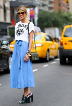 How to Wear Crop Tops: 30 Outfits Ideas for Every Body Type | StyleCaster