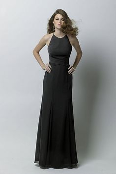 Technically a bridesmaid dress, but would be awesome for a black-tie event, too -- Wtoo Maids Dress 283 | Watters.com