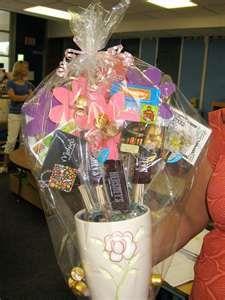 bouquet gift card money idea