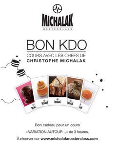 #Swif Bon cadeau 3h cours Michalak 120€