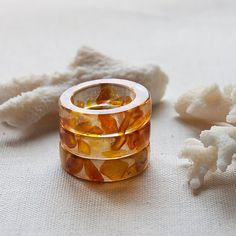 Hey, I found this really awesome Etsy listing at https://www.etsy.com/listing/156870242/crystal-eco-resin-band-ring-natural