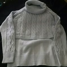 Blue turtleneck sweater. Never worn. Never worn. Baby or powder blue sweater. Venus Sweaters Cowl & Turtlenecks
