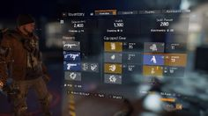 The Division PC inventory