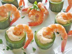 Ricetta Antipasto : Bocconcini di zucchine, mascarpone e mazzancolle da La cucina di ASI