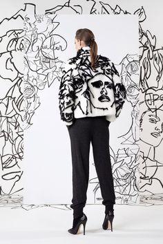 Jean Paul Gaultier Pre-Fall 2014 Fashion Show Fashion Prints, Fashion Art, High Fashion, Fashion Outfits, Womens Fashion, Fashion Design, Emo Fashion, Cyberpunk Fashion, Gothic Fashion