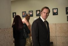 "Better watch! In ""tonight's episode"" of ""Better Call Saul,"" Bob Odenkirk's character will become Saul Goodman, bad attorney, but first, he's Jimmy McGill, surviving on pure wit. After ""finding"" a loaded wallet, he's breaking good."