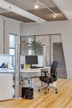 Open concept desks and pods at Norbella - Boston Headquarters