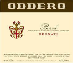 Oddero Barolo Brunate 2010
