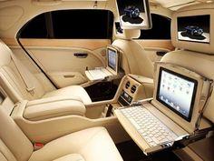 Bentley inside
