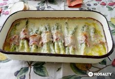 Hungarian Recipes, Fruits And Vegetables, Asparagus, Quiche, Bacon, Recipies, Favorite Recipes, Cooking, Breakfast