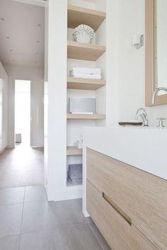 Ind 1 - voorbeeld voor nis met planken in keuken