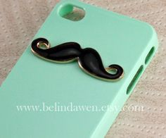 cool iphone 5 cases - Google Search Cool Iphone 5 Cases, Iphone 4s, Cell Phone Cases, Mustache, Mint Green, Cool Stuff, Cover, Etsy, Google Search