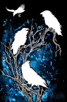 Art Is The Weapon — farewell-kingdom: White Ravens' Branch by...