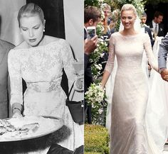 Beatrice Borromeo channels elegant Grace Kelly on wedding day ...