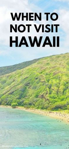 Travel ideas and best time to go to Hawaii. Is there a time for when to not visit Hawaii, when to go for things to do in Hawaii like best beaches and snorkeling spots on Oahu with March weather. Best Island Vacation, Hawaii Vacation, Beach Trip, Vacation Spots, Beach Travel, Vacation Travel, Time Travel, Usa Travel, Beach Vacations