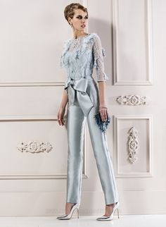Manu Garcia costura Beautiful Outfits, Cool Outfits, Overall, Jumpsuit Dress, Elegant Outfit, Party Fashion, The Dress, Evening Dresses, Party Dress