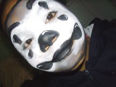 Black and White Clown make up