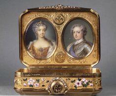 Daniel GOVAERS (master in Paris in 1717) Snuff-box. #antique #vintage #box