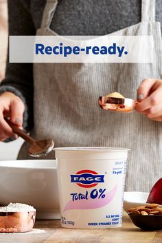 Transform your holiday baking with rich FAGE Total Greek yogurt.