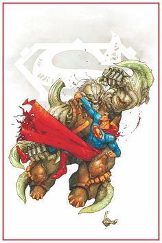 Superman vs Doomsday :: the art of kenneth rocafort