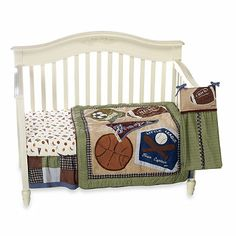 CoCaLo Baby® Sports Fan 8-Piece Crib Bedding and Accessories - BedBathandBeyond.com